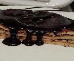 Schokoladensauce / Schoko - Schokoladen - Soße / Low Carb
