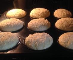 Sour Cream Muffins glutenfrei, eifrei, sojafrei, histaminarm