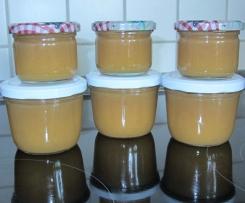 Nektarine-Apfel-Banane-Aufstrich
