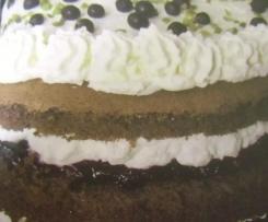 Schwarze Johannisbeer-Torte