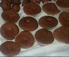 Muffins mit Schokopudding