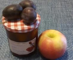 Fantastische Zwetschgen-Apfel-Marmelade