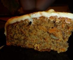 Australian Carrot Cake - Möhrentorte, Rüblikuchen
