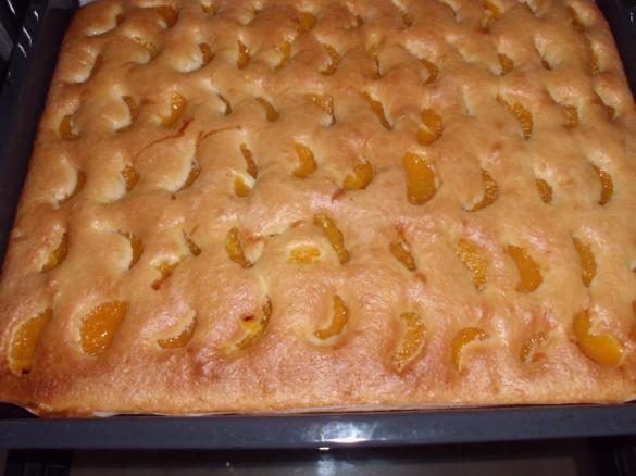 Mandarinenkuchen Vom Blech Von Karin1310 Ein Thermomix Rezept Aus