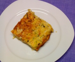 Zucchini-Schnitten