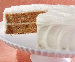 Karotten-Kokos-Kuchen (super saftig)