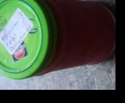Pflaumen-Apfel-Marmelade mit Pfiff