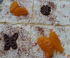 Mandarinen-Schnitte