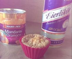 Eierlikör-Mandarinen-Muffin