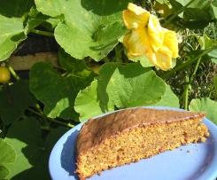 Kürbis-Schoko-Nuss-Kuchen