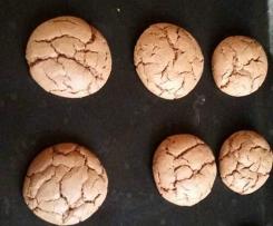 Nutella-Kekse,nicht nur als Weihnachtsplätzchen