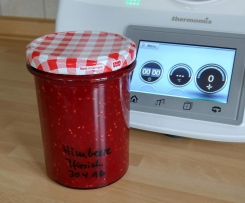 Ruck-zuck Himbeer-Pfirsich-Marmelade