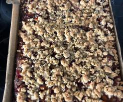 Zwetschgenkuchen nach Omas Quarkteig