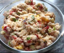 "Blumenkohl ""Couscous"" Salat"