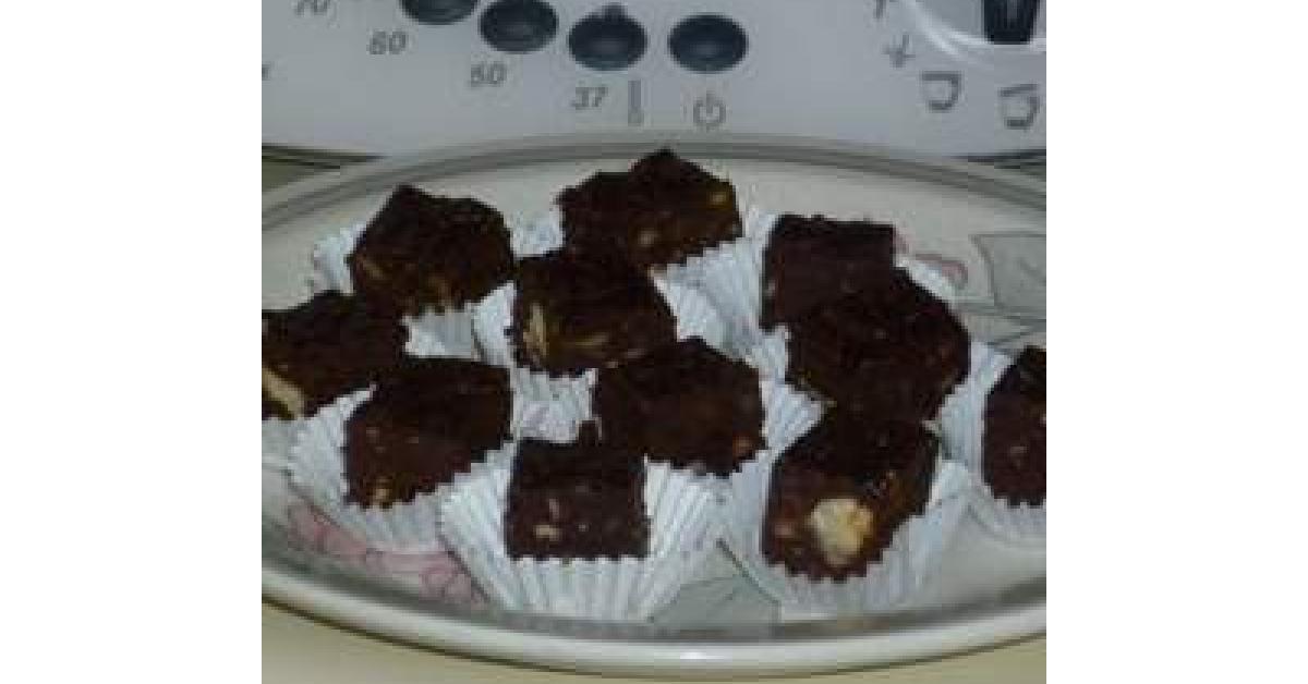 schokoladen konfekt mit trockenfr chten und n ssen nach johann lafer von annehutze ein. Black Bedroom Furniture Sets. Home Design Ideas