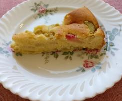 Rhabarber-Rührkuchen