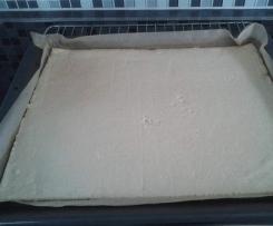 Mürbeteig / Obstboden für ein Blech