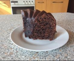 Veganer Schokoladenkuchen saftig