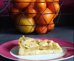 Variation Gedeckter Apfelkuchen