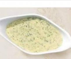 Kräuter Béchamelsauce   Gemüse Soße