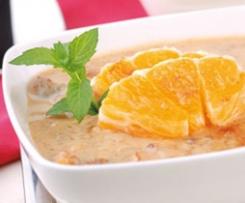 Frühstückssuppe mit Obst