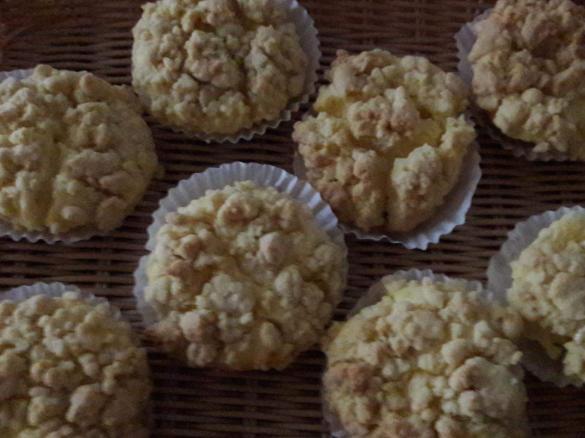 Kasekuchen Streusel Muffins Von Backbaer Ein Thermomix Rezept Aus