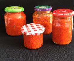 Sambal mit Tomate (scharf)