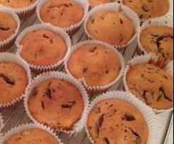 Rosinen-Schoko-Muffins