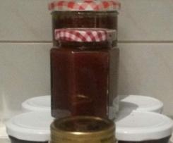 Tonkabohnen-Kirsch-Marmelade