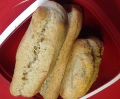 Baguette (Grundrezept) - mit Vollkornanteil