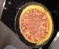 Tortilla mit Oliven