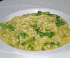 Avocado Risotto mit Zitrone