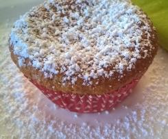 Möhrenmuffins, Karottenkuchen !!Ohne zusätzliches Fett!!