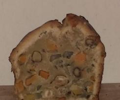 Haselnuss-Kürbis-Kuchen