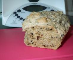 Brot ohne Hefe! Super lecker und saftig!