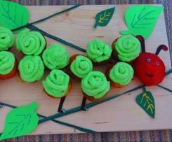 Raupe Nimmersatt Geburtstagskuchen