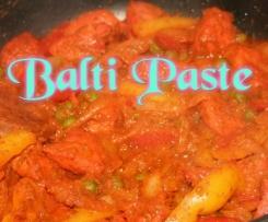 Balti Paste für indische Speisen
