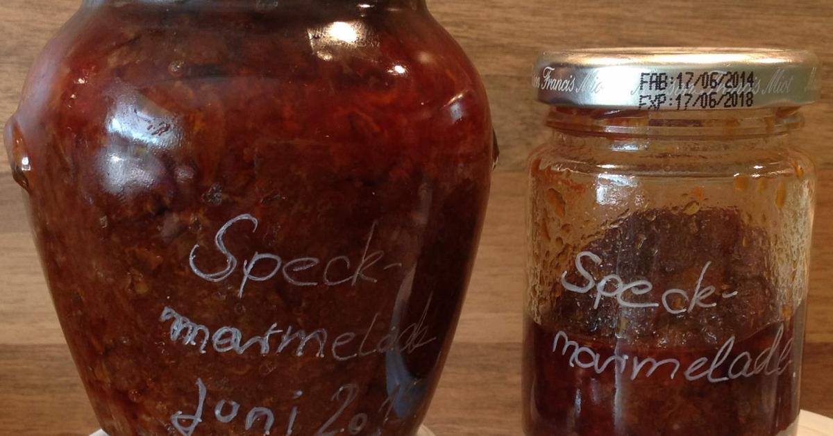 Speck Marmelade