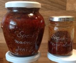 Speck-Marmelade amerikanische Art