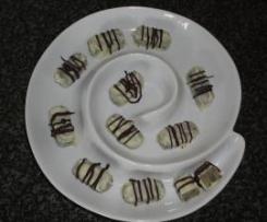 Marzipan-Mohn-Pralinés: Pralinen - mit feiner frühlingshafter Zitronennote