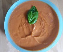 Salmorejo ( kalte Tomatensuppe, aus Cordoba)