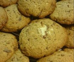 Kinderschokoladen-Cookies