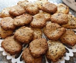 Schoko - Walnuss - Cookies schnell und lecker