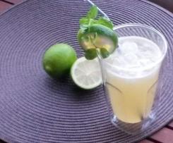 Ingwer-Limetten-Limonade mit Minze