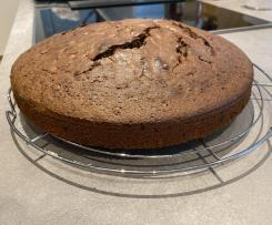 Rotweinkuchen für groß und klein