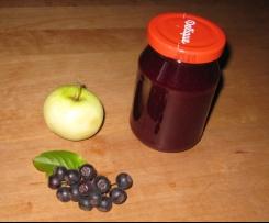 Apfel Aronia Marmelade