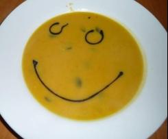 Cremige Kürbissuppe mit Curry und Ingwer (WW tauglich)