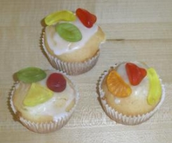 Gute-Laune-Muffins mit Orangenlimonade