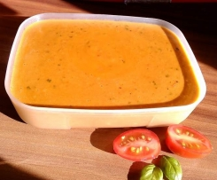 Aufstrich fürs Brot Tomate-Morzarella