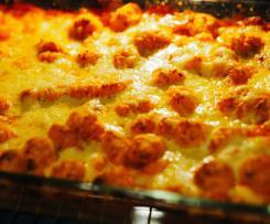Gnocchi in Paprika-Tomaten-Sauce